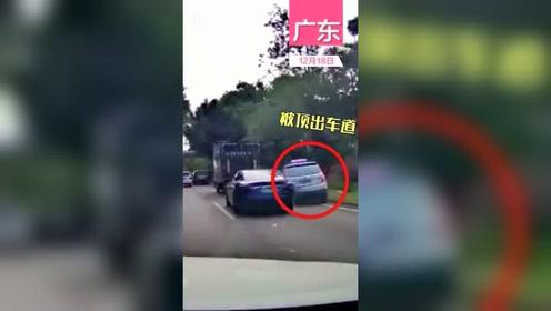 特斯拉回应深圳车主称刹车失灵连撞两车:车主一直在加速,没踩过刹车