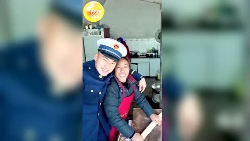 #热点速看#陕西延安95后消防员自拍纪录元旦回家