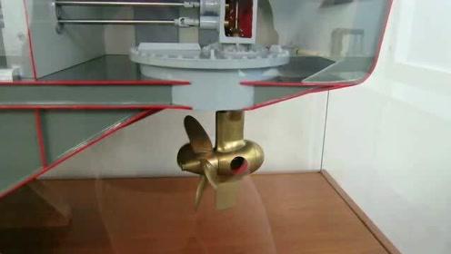 感觉视频有点意思,轮船螺旋桨还能这样转,这个模型让我脑洞大开!