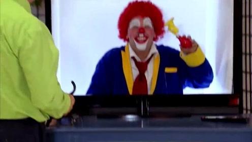 幽默恶搞之吓死人的街头小丑恶作剧第105集