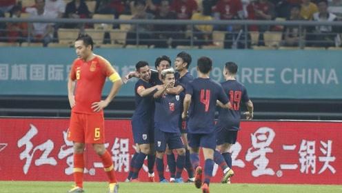 【集锦】卡帅首秀国足0-1泰国无缘中国杯决赛 泰国梅西破门