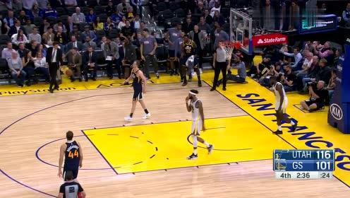 【扣篮】米切尔拼抢篮板 超远传球连线英格尔斯行进间扣篮