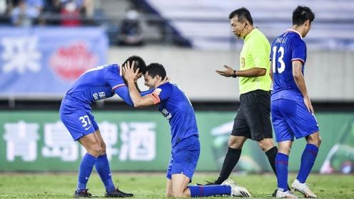 【战报】莫雷诺惊天1v4破门!山东鲁能1-1遭上海申花逼平 三轮未尝胜绩