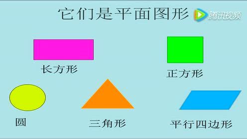 一年级数学上册(4) 认识图形(一)_认识平面图形flash课件