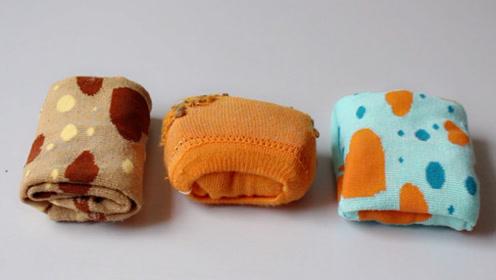 10种袜子的叠法图解