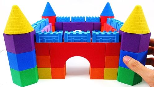 创意手工制作:做彩虹城门