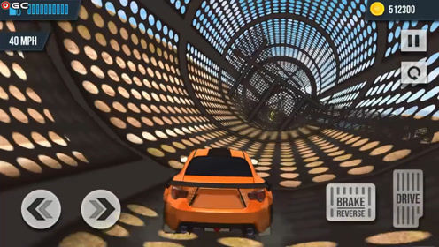 赛车游戏 极速飞车翻滚特技