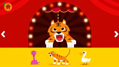 动物世界音乐剧 老虎藏在哪里了?