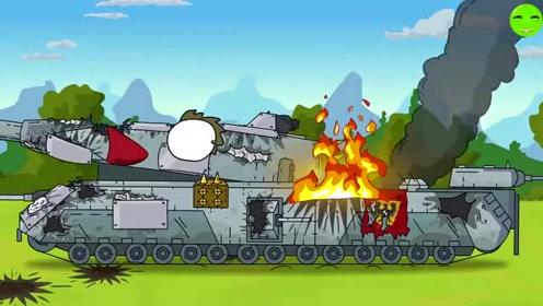 坦克搞笑动漫世界:被虐的小坦克