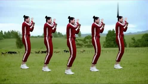 减肥瘦身操《财神驾到》音乐好听,舞步简单易