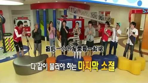 韩综RM:金钟国为了游戏故意唱错,惨遭到队员围