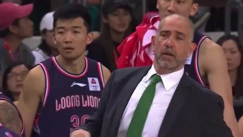 郭凯参加广州男篮全队训练,CBA重启后有望复出