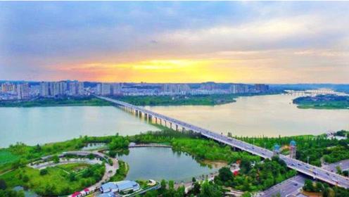 遂宁市的观音湖生态湿地公园,来这城市玩还是值得一游!