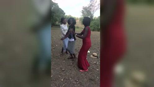 非洲美女尬舞