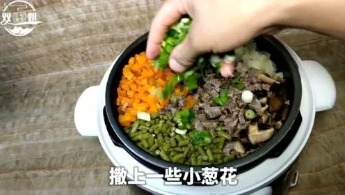 乡村美食双姐:懒人蒸米饭,上班族的必备,游戏做饭两不误