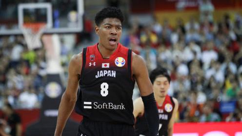 八村塁FIBA精彩表现,不愧是日本篮球未来的希望,中国男篮危险了