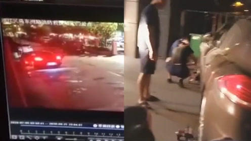 保时捷车主把车横停在消防站门口,并锁车离开!下一秒车主老实了……