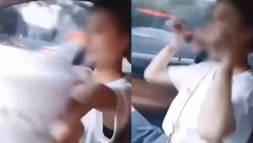 女子开车不握方向盘,还在车内跳舞,发视频炫耀,结局大快人心
