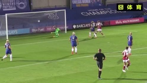 英超男足看多了,来看看英超女足切尔西对阵阿森纳,这对抗程度什么水平?