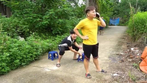 搞笑视频合集:三兄弟都是人才,各种各样的整蛊,太搞笑了