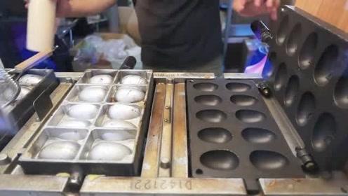 台湾美食:小吃-最佳甜点鸡蛋华夫饼!
