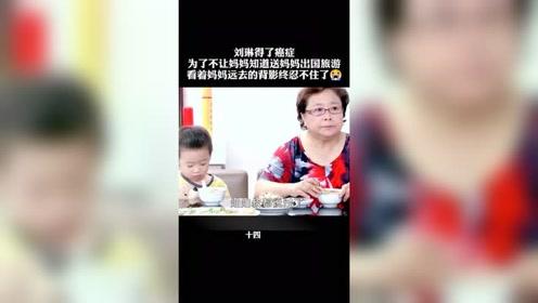 刘琳得了癌症骗妈妈出国旅游