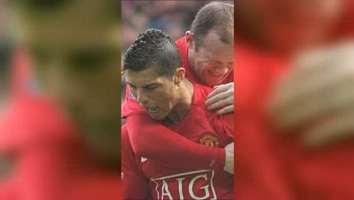 这是C罗在曼联最后参与的双红会,这场比赛是在太多经典画面了