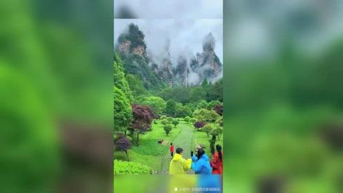 风景山云视频