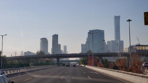 实拍北京五环外到北京三环,沿线的城市建设,如同两个世界