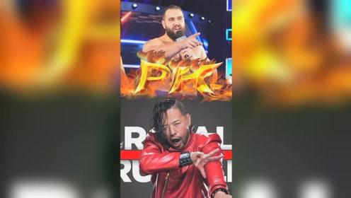 WWE:卢瑟夫霸气登场,中邑真辅歪嘴一笑,结局令人意外