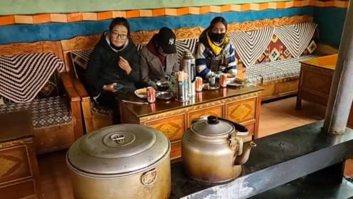 西藏边境偶遇藏族女孩原来是幼儿园老师,花花居然说她想念我了