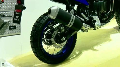 这款雅马哈摩托车,外观设计独特,非常适合山地路面!
