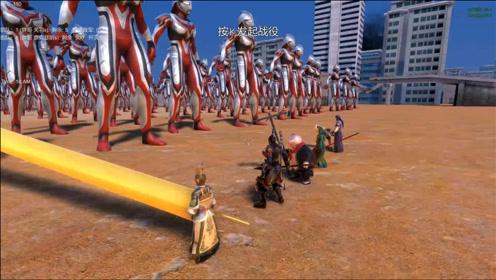 孙悟空带领中国版模拟器五侠,能打败500个奈克