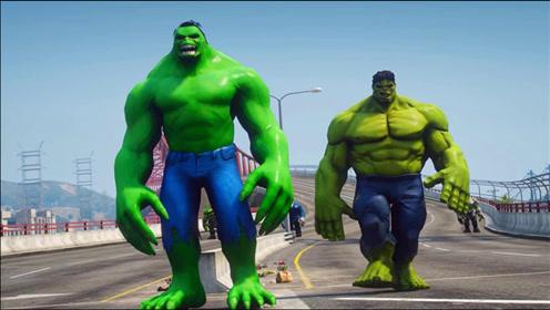 搞笑动画:绿巨人家族VS蜘蛛侠家族,你支持哪方