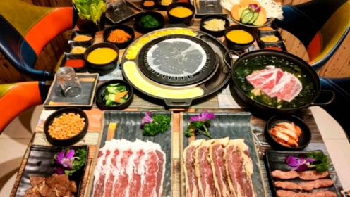 #联联周边游清远站# 美食打卡,探店韩峰阁烤肉!唯有美食不可辜负…#美食测评#
