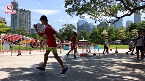 """【视频】珠江沿岸的""""红色珠链""""长啥样?读书学党史、体育、义诊..."""