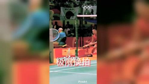 神操作!极限换拍!2016里约奥运会林丹球拍线断了,他是这么做的