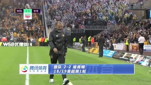 【集锦】狼队2-2埃弗顿 理查利森梅开二度