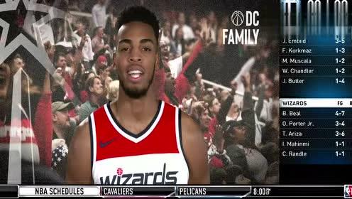 2019年01月10日NBA常规赛 76人VS奇才 全场录像回放视频