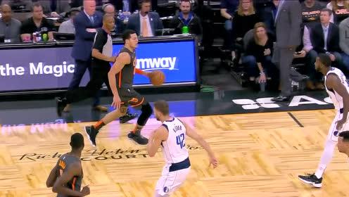 好横的进攻方式 戈登蛮牛冲撞上篮打进加罚