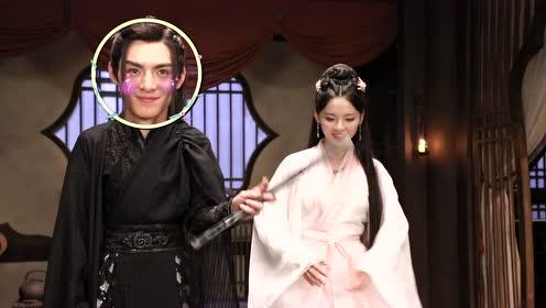 BTS: Yu Mingye's super long eyelashes are enviable | Dance of the Phoenix