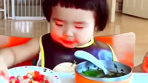 有一个爱吃饭的孩子是什么样的一种感受