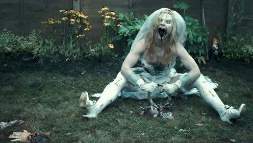 新娘子感染病毒变僵尸,这部电影好疯狂