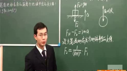 高中物理必修2第六章 萬有引力與航天 3.萬有引力定律