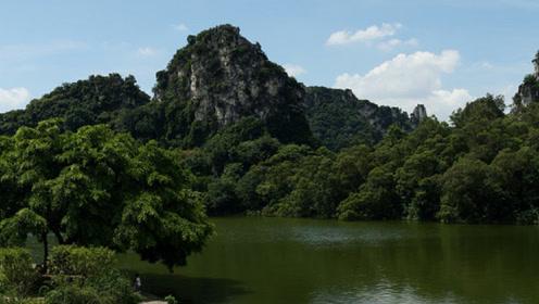 古海带你走乡下去看广东化州林尘镇黄氏风水宝地猛虎