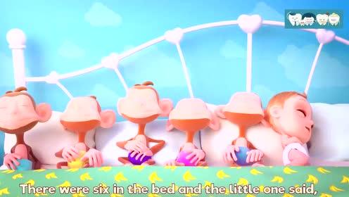可爱的宝宝教小朋友唱儿歌学发音