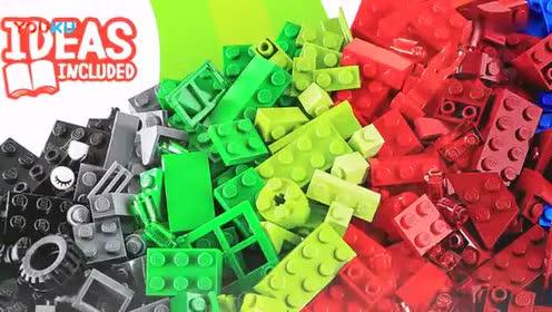 乐高积木玩具乐高玩具螃蟹拼装教程视频玩转乐