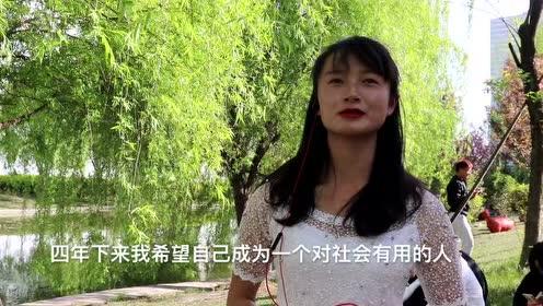 昭通学院校园街拍视频