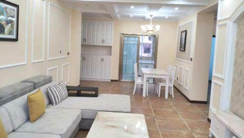 200㎡美式风格新房全房精装修,客餐厅太漂亮,太有范了!