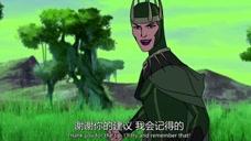 惊奇队长和黑寡妇大战女巫,可惜双双被擒